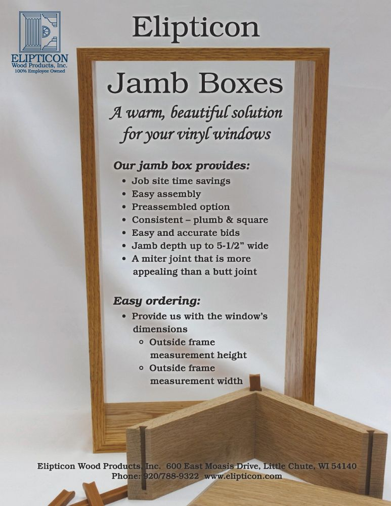 Elipticon Jamb Boxes Flyer